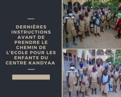 L'actualité hebdomadaire au centre d'accueil pour enfant de Creuset Togo