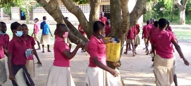 Redynamisation du club d'enfants de l'école des Nations de Notsé
