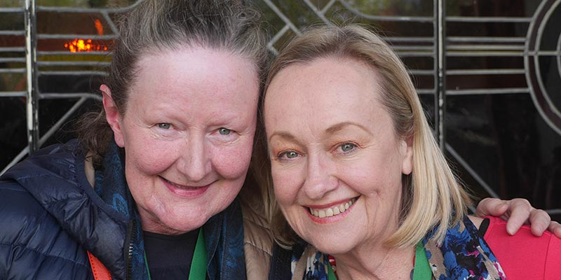 Maryanne Redpath and Christina Milligan - Photo: Tony Forster