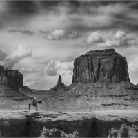In Monument Valley