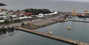Limón y Móin son los principales puertos de Costa Rica. Foto cortesía de JAPDEVA.
