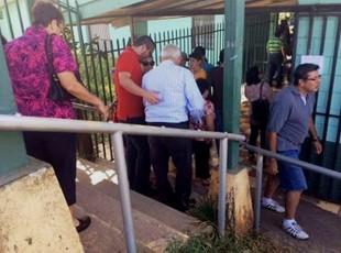 Defensoría pide una mayor  accesibilidad en los centros de votación. Foto cortesía Defensoría de los Habitantes.