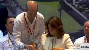 Laura Chinchilla firmó la intención oficial de ser miembro de la Alianza del Pacífico. (Imagen subida por la organización en su cuenta en Twitter.)