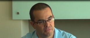 El superintendente de pensiones, Édgar Robles. CRH.