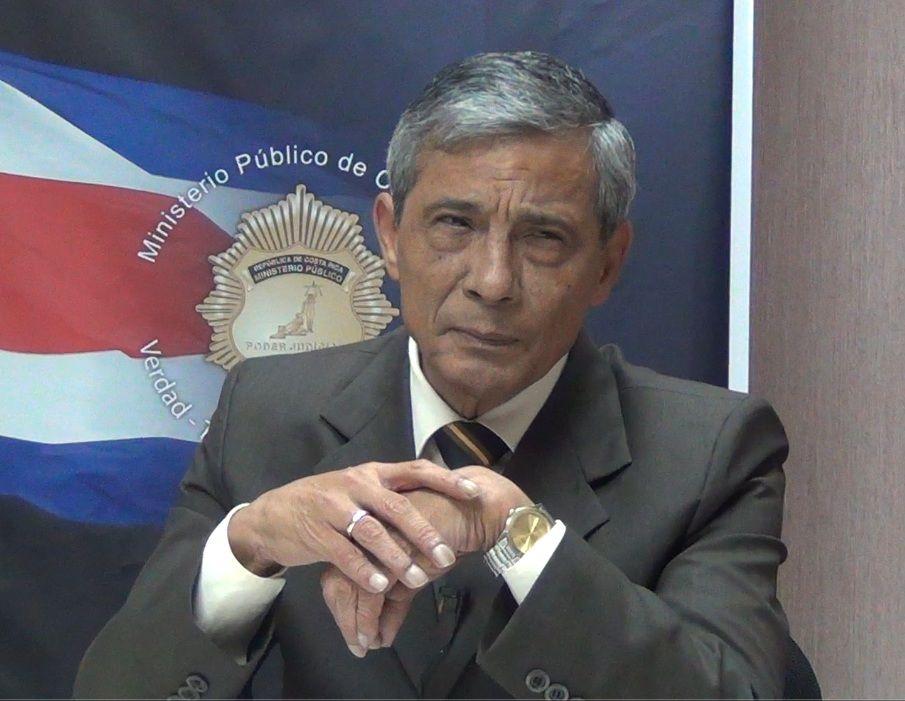 El fiscal General Jorge Chavarría, quien busca reelegirse, consideróa hace unos meses que la prueba de Canadá era insuficiente. (CRH)