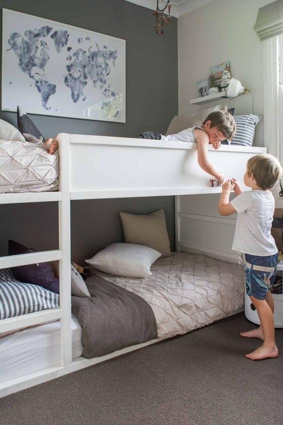 Beliche Montessoriano Ideal Para Quarto Com Pouco Espao