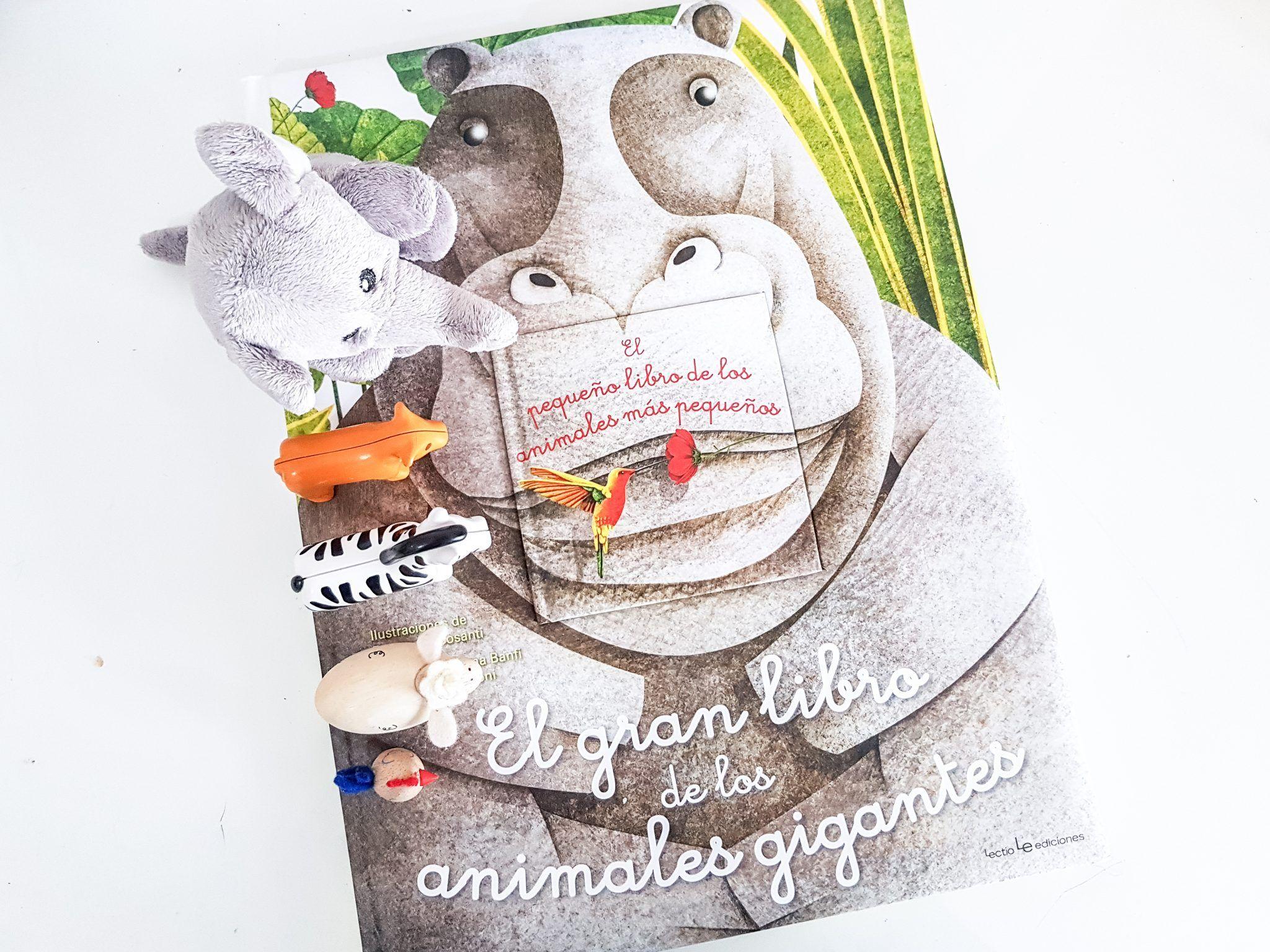 El gran libro de los animales gigantes y pequeños