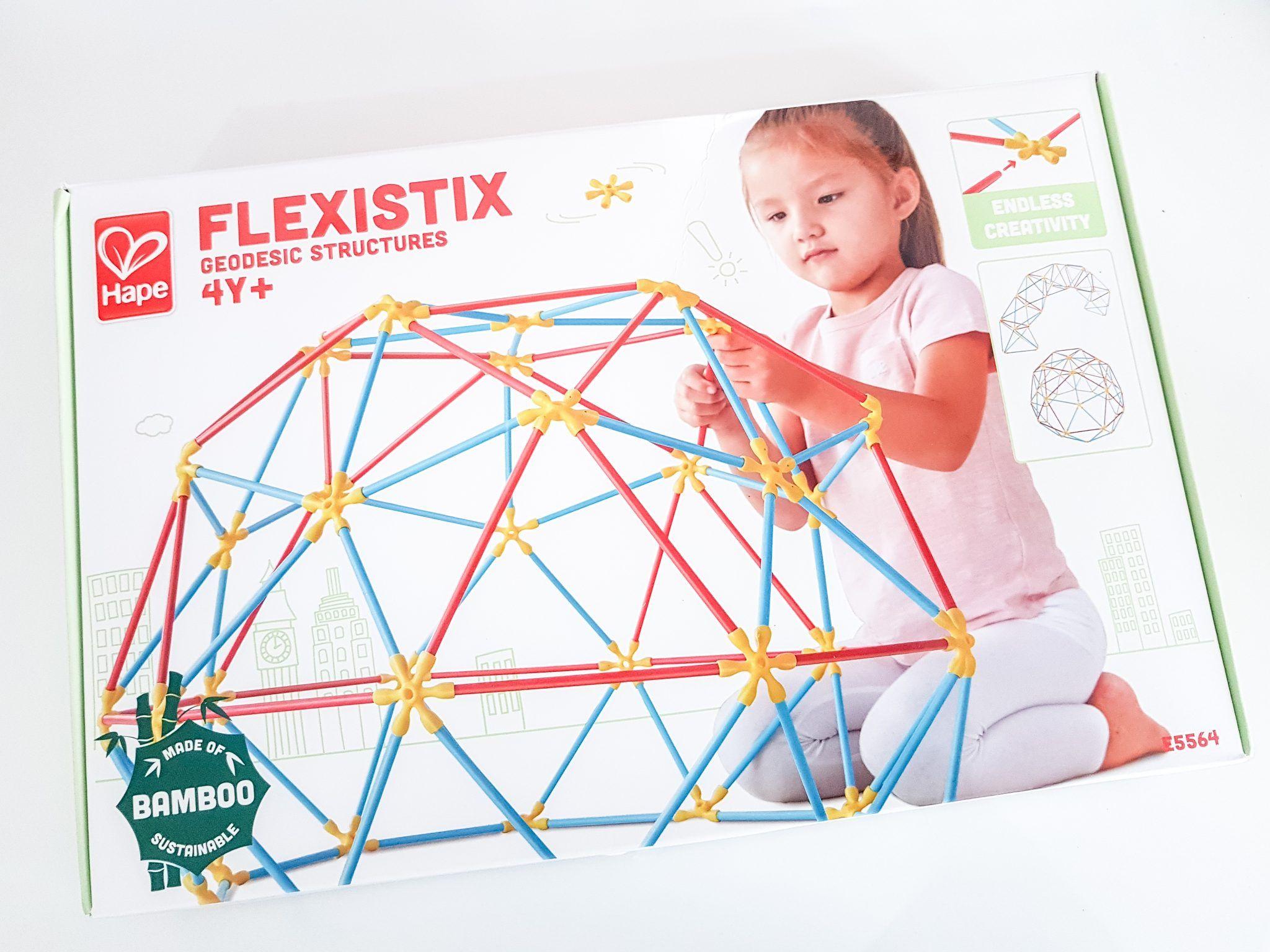 Jugamos con Flexistix estructuras