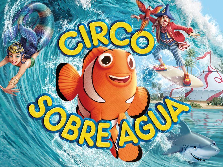Circo sobre agua en Madrid, circos sin animales
