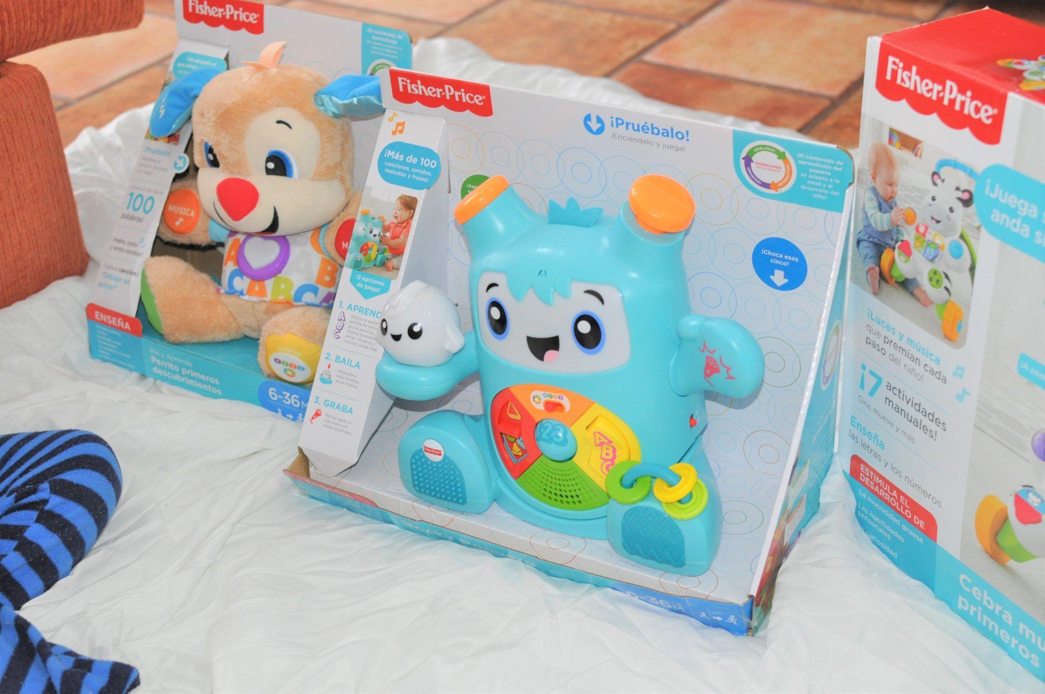 Probamos juguetes Fisher Price, aprender y divertirse