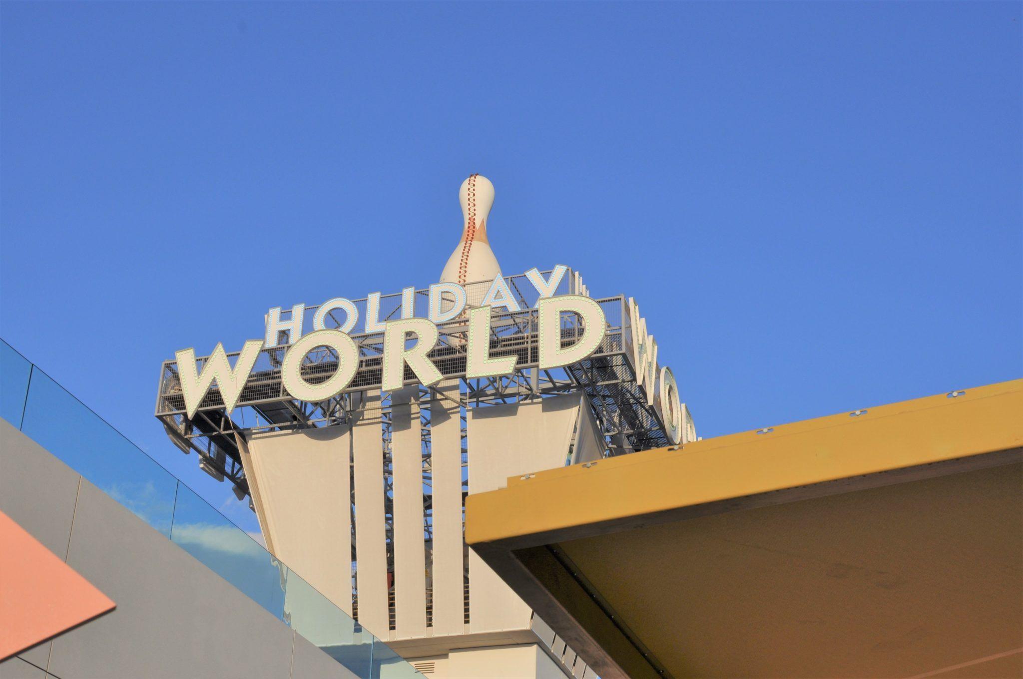 Parque de atracciones Holiday World con niños
