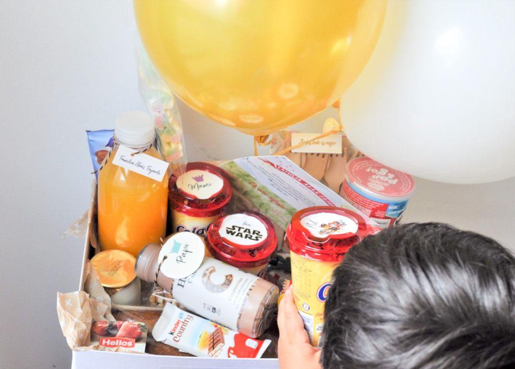 Tudulcesorpresa, cajas de desayunos a domicilio en Gran Canaria