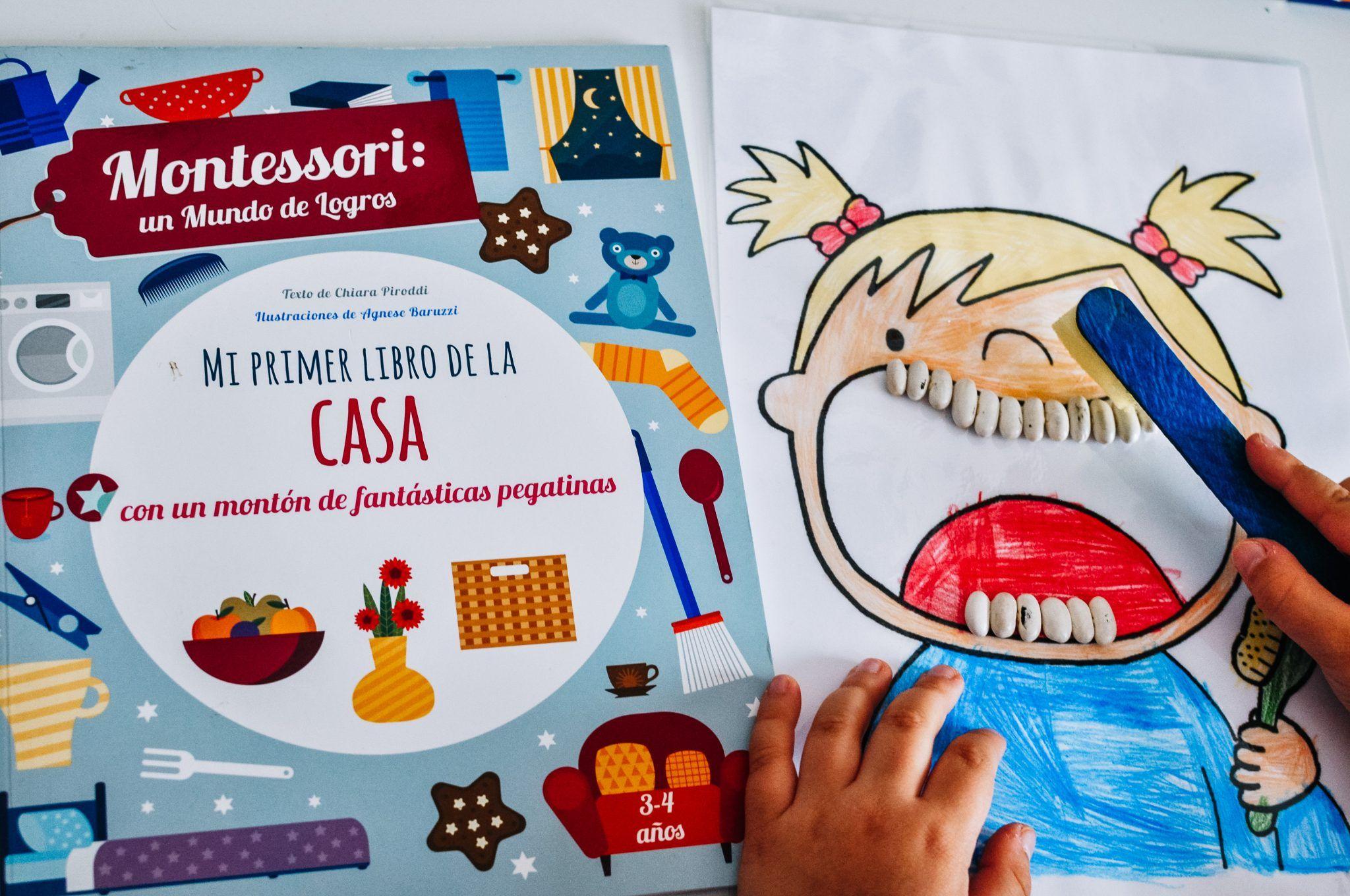 Mi primer libro de la casa Montessori y manualidad DIY