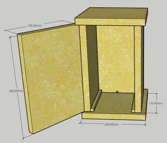 Montagem Caixa AF Inteligente para Abelhas Jataí