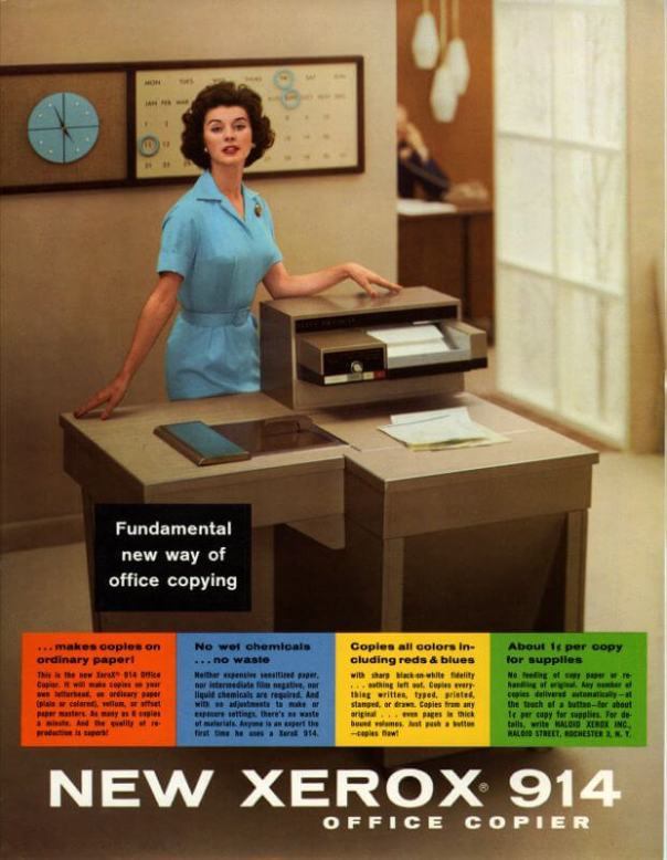 Xerox 914 Cribsa Barcelona Historia 2 Xerox, la primera fotocopiadora de la historia