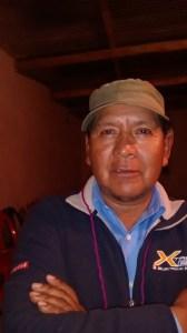 Marcelino Sulca integrante Comunidad Indígen Pan de Azucar