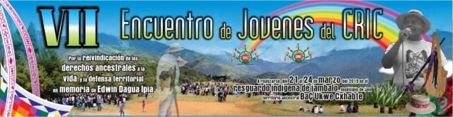 VII Encuentro de Jóvenes del CRIC banner lateral