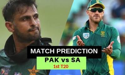 South Africa vs Pakistan 1st T20 Match Prediction