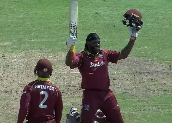 Chris Gayle now has most sixes in international cricket