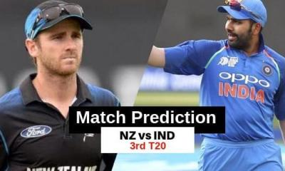 India vs New Zealand 3rd T20 Match Prediction