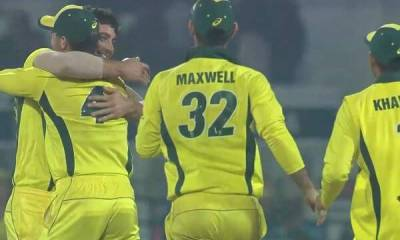 Australia's series win