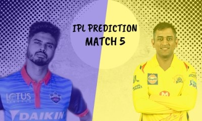 IPL 2019 Match 5 Delhi Capitals vs Chennai Super Kings Match Prediction