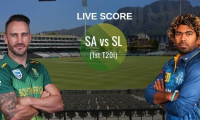 SA vs SL 1st T20I Live Score: South Africa vs Sri Lanka Live Score