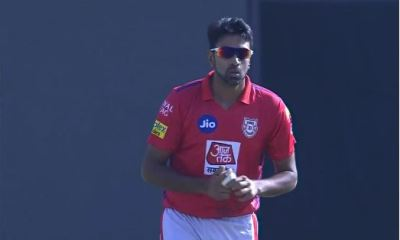 Ravichandran Ashwin bowled 7 balls in his first over against MI