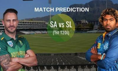South Africa vs Sri Lanka 1st T20 Match Prediction