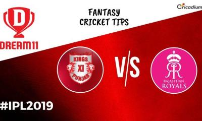 Dream 11 Prediction Today IPL 2019 KXIP vs RR Fantasy Cricket Tips