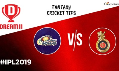 Dream 11 Prediction Today IPL Match 2019 MI vs RCB Fantasy Cricket Tips and Predicted XI