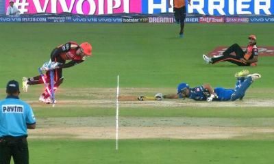 Watch: Jonny Bairstow ran out Ishan Kishan in a unique way in IPL 2019