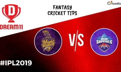 Dream 11 Prediction Today IPL Match 2019 KKR vs DC Fantasy Cricket Tips
