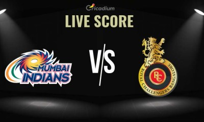 IPL 2019 Match 31 MI vs RCB Live Score, Scorecard and Results