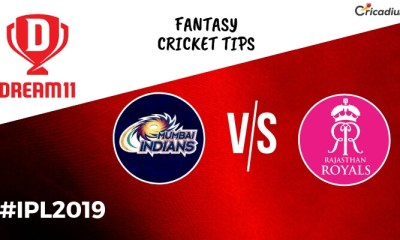 Dream 11 Prediction Today IPL Match 2019 MI vs RR Fantasy Cricket
