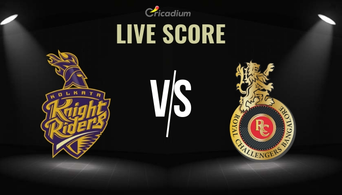 IPL 2019 Match 35 KKR vs RCB Live Score, Scorecard & Results