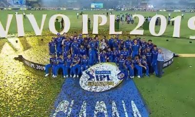 IPL 2019 Final: MI beat CSK by 1 Run, Mumbai Indians Became the First Team to Win 4 IPL Titles