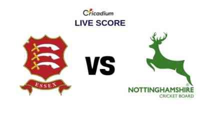 Essex vs Nottinghamshire Live Cricket Score, County Div 1, County Championship 2019 Essex vs Yorks Live Score