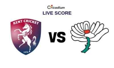 Kent vs Yorkshire Live Cricket Score, County Div 1, County Championship 2019 Kent vs Yorks Live Score
