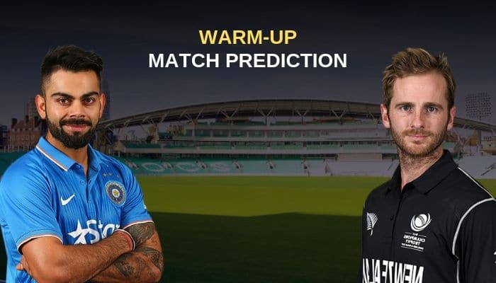 ICC World Cup 2019: Warm-up Match 4 India vs New Zealand Match Prediction, Who Will Win Today