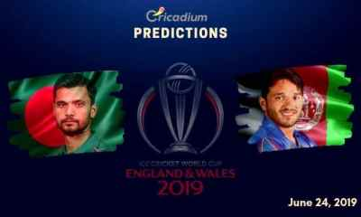 ICC World Cup 2019 Match 31 Bangladesh vs Afghanistan Match Prediction Who Will Win Today