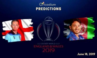 ICC World Cup 2019 Match 24 Eng vs Afg Match Prediction Who Will Win