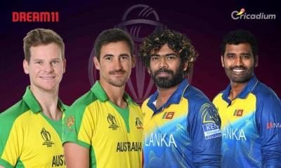 SL vs AUS Dream 11 team Today Match 20 World Cup 2019: Sri Lanka vs Australia Dream 11 Tips