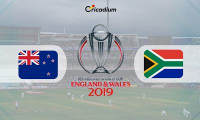World Cup 2019 Match 25 NZ vs SA Live Score: New Zealand vs South Africa Live Cricket Score