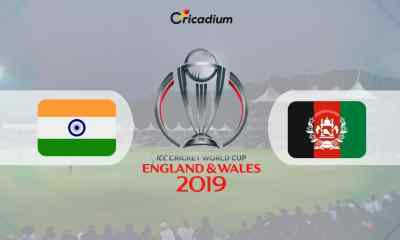 World Cup 2019 Match 28 IND vs AFG Live Score: India vs Afghanistan Live Cricket Score