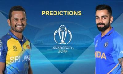 ICC World Cup 2019 Match 44 Sri Lanka vs India Match Prediction Who Will Win Today