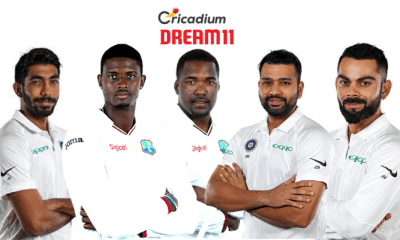 India tour of West Indies, 2019 1st Test WI vs IND Dream 11 Team