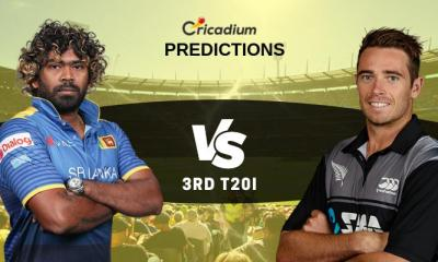 New Zealand tour of Sri Lanka, 2019 3rd T20I SL vs NZ Match Prediction Who Will Win
