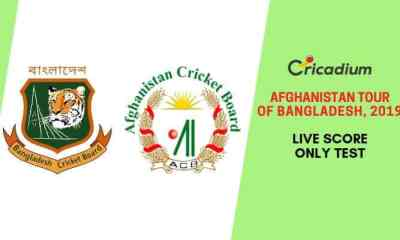 Afghanistan tour of Bangladesh Only Test, 2019 Only Test Bangladesh vs Afghanistan Live Cricket Score