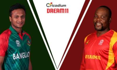 Bangladesh Tri-Series 2019 1st Match BAN vs ZIM Dream 11 Team